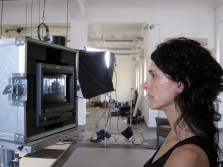 """Maya Zack filming at """"After Cinema"""""""