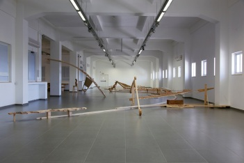 """""""The William Ahbless Project"""", installation view"""