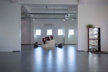 """Machines for Living"", installation view"