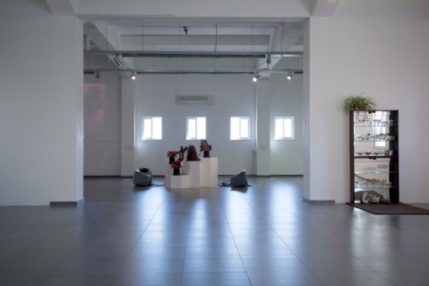 """""""Machines for Living"""", installation view"""