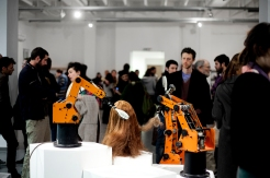 "Opening event of ""Machines for Living"""