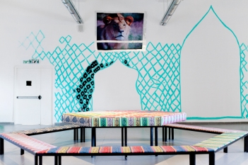 """""""Experiments in Techniques"""", installation view"""