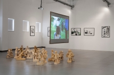 """""""Mythographies"""", installation view"""