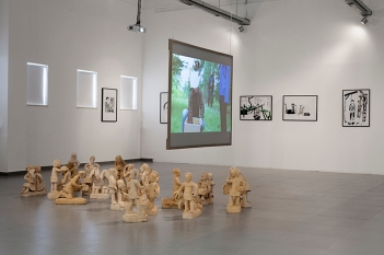 """Mythographies"", installation view"