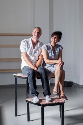 Roy Brand and Sagit Mezamer, Yaffo 23's Curators